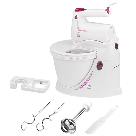 ETA Hand mixer with stand and bowl