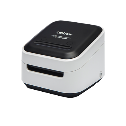 Brother VC-500W Colour, ZINK Zero-Ink, Label Printer