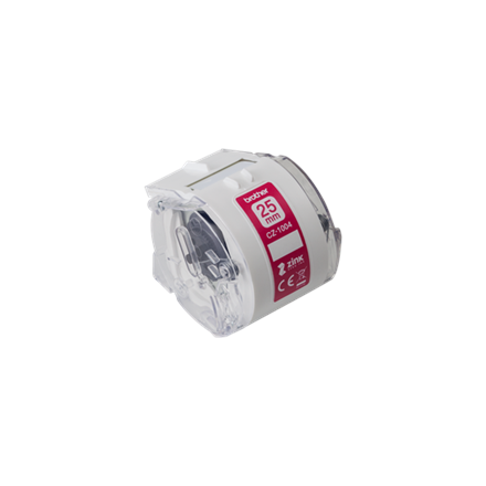 Brother Full colour continuous label roll CZ-1004  Label tape, 5 m, 2.5 wide cm