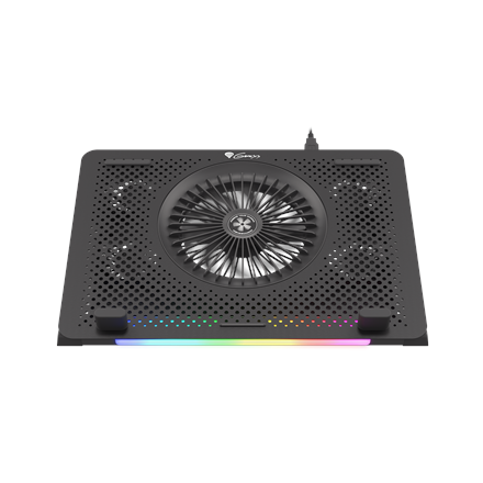 Genesis Laptop Cooling Pad OXID 450 Black, 400 x 280 x 55 mm